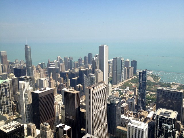 Views from Willis Tower Chicago activities with kids