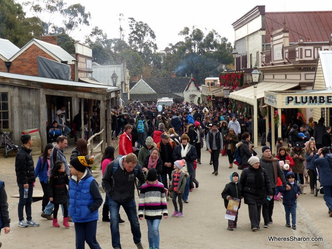 ballarat things to do and see at Main Street Sovereign Hill
