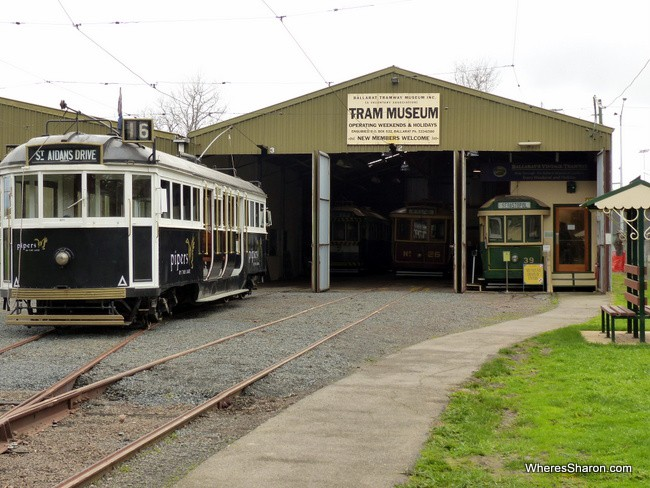 activities in Ballarat Tramway Museum