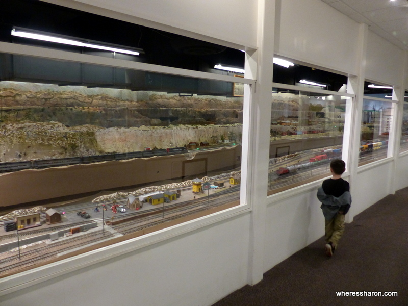 places to visit in san diego with family Model Railroad Museum