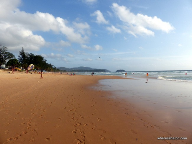 things to do for kids in phuket at Karon beach