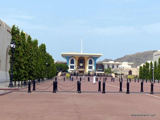 Al Alam/Sultan's Palace muscat what to do