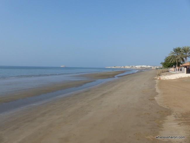 Shatti Al Qurum Beach Muscat