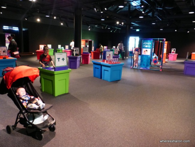 canberra things to do family at Questacon