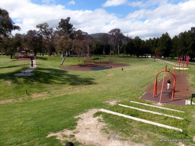 kids playground canberra at Kambah