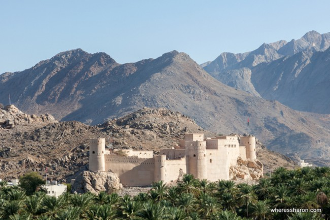 Nakhal Fort tourism places in oman