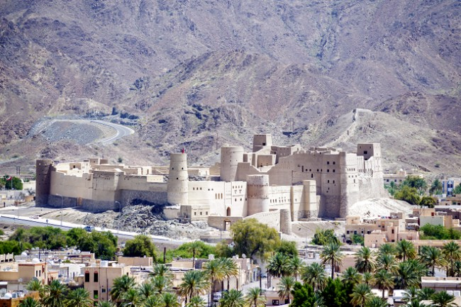 Bahla Fort places in oman