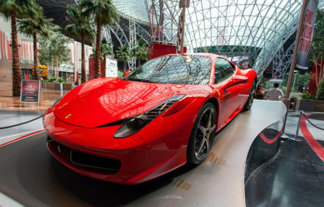 things to do and see in abu dhabi at Ferrari World