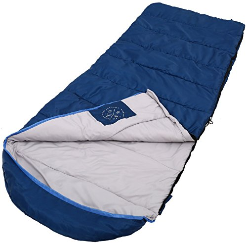 "This is a 4 season sleeping bag lightweight option, which fits anyone up to 66"", making it a very flexible and cost effective choice for everyone."