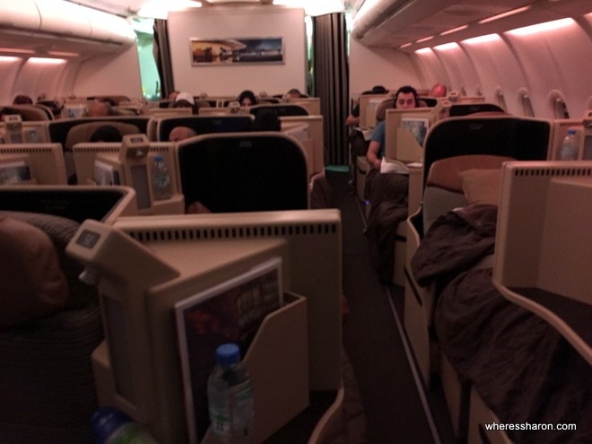 Etihad Business Class Review - 777, A330-200, A319 and A320 - Family