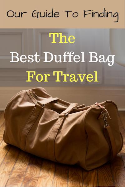 best duffel bags 2017
