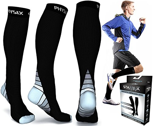 a32ba0fb75 Physix Gear Sport compression socks is the first compression socks review  and are the best compression socks for running. These socks are suitable  for both ...