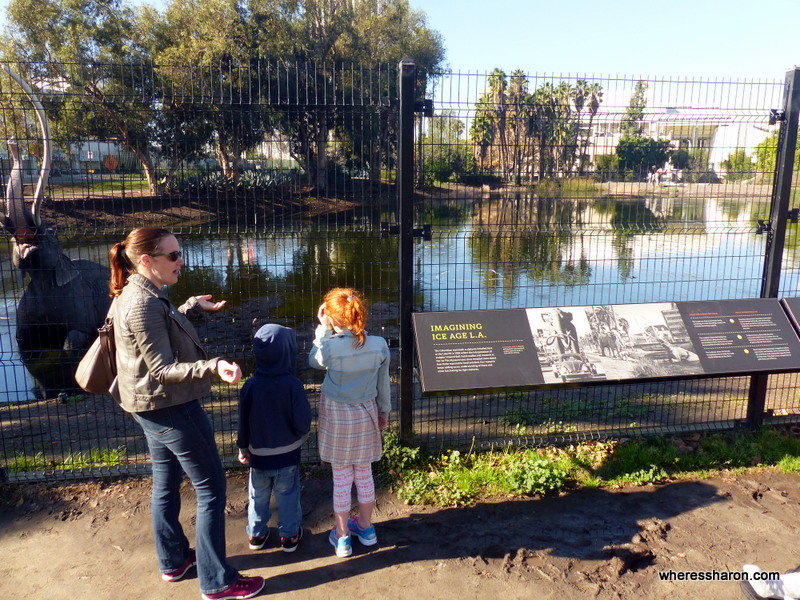 kids things to do in los angeles at La Brea Tar Pits