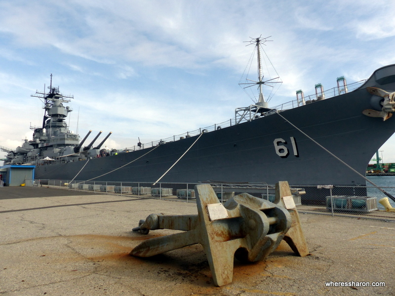 USS Iowa family friendly things to do in los angeles
