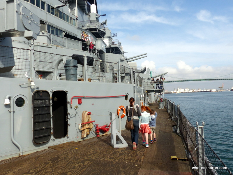 USS Iowa top things to do in la with kids