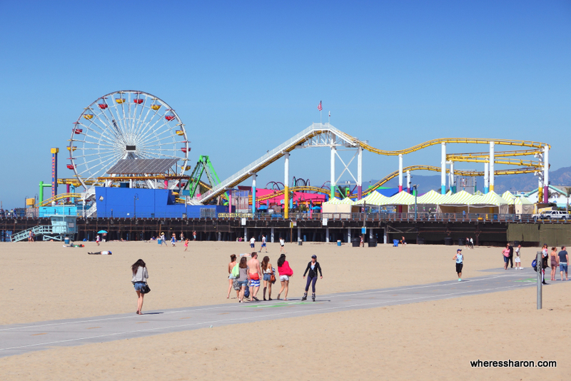 things to do with kids los angeles at Santa Monica Pier