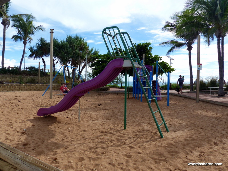 Playground at Cable Beach Broome