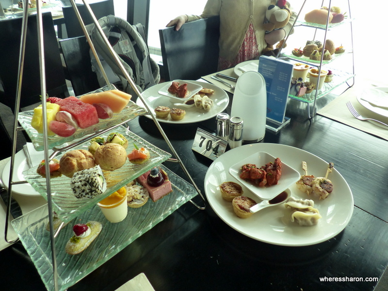 High Tea at the Macau Tower. The tower is one of the best places to visit in Macau.
