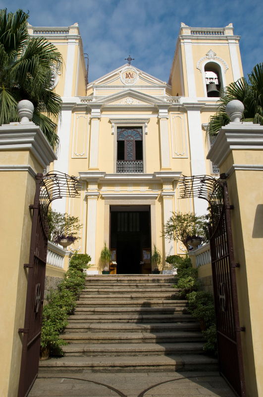 places to visit macau Church of St Lawrence