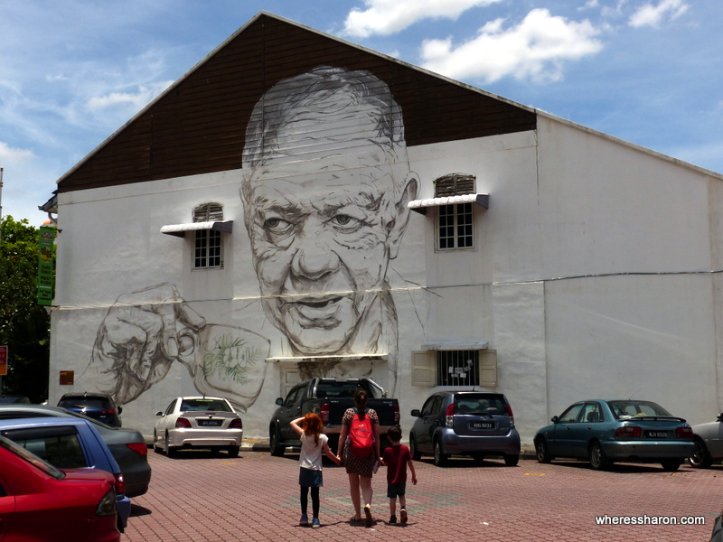 An Ipoh street art example