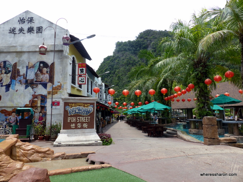 Fun in the sunway lost world of tambun review family travel blog ipoh street at lost world of tambun gumiabroncs Choice Image