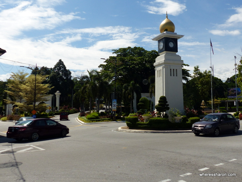 Clock Tower area in Kuala Kangsar