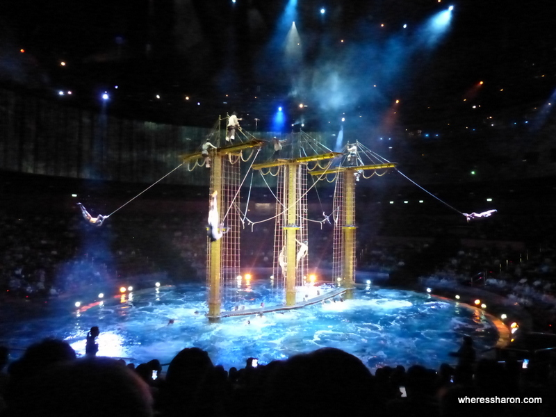 The House of Dancing Water show in Macau, what to do if you're after a great performance.