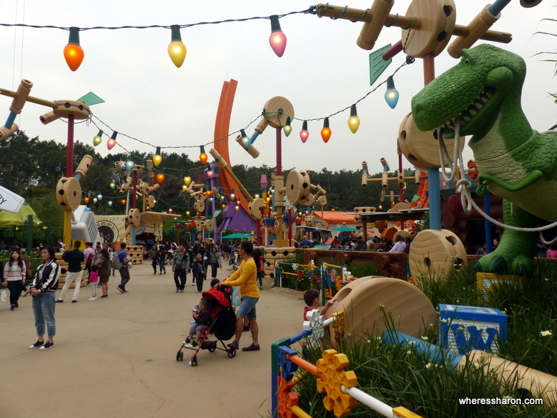 Toy Story Land Disneyland HK
