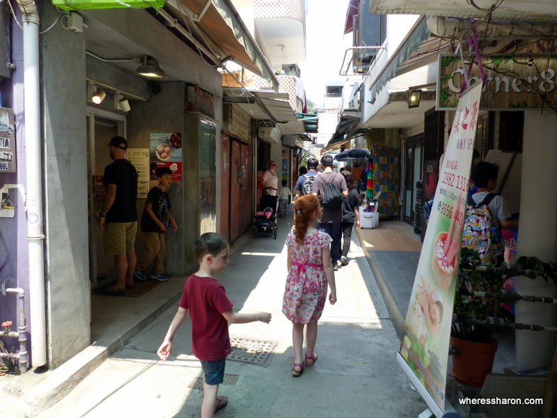 Lamma Island with kids