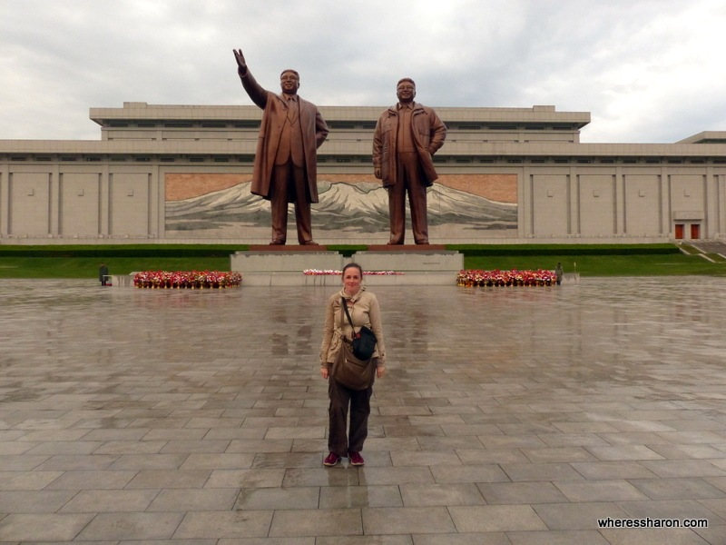 Mansudae Grand Monument north korea beautiful places