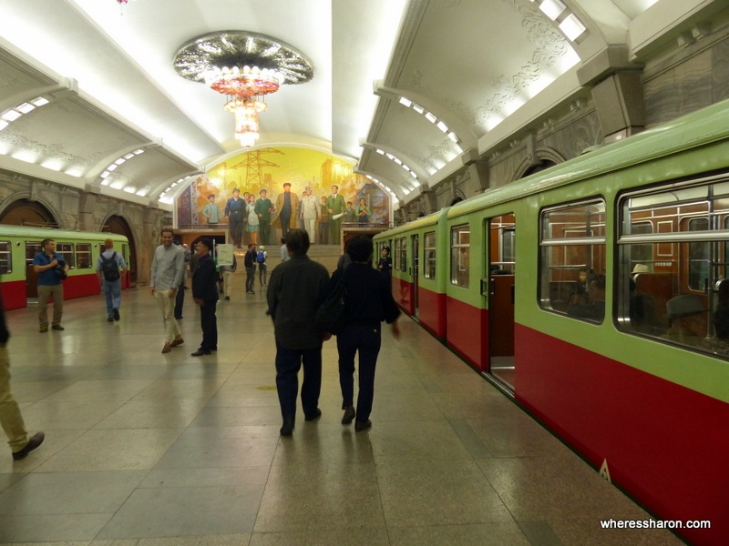 subway pyongyang