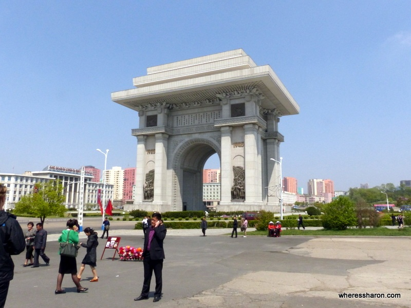 Arch of Triumph North Korea