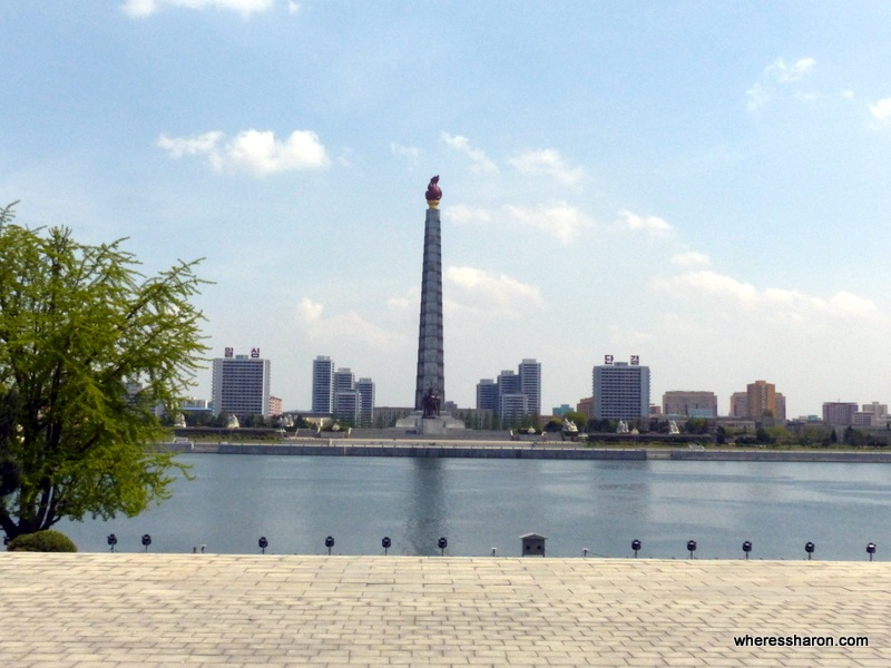 Juche Tower North Korea