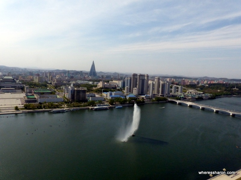 Pyongyang from Juche Tower