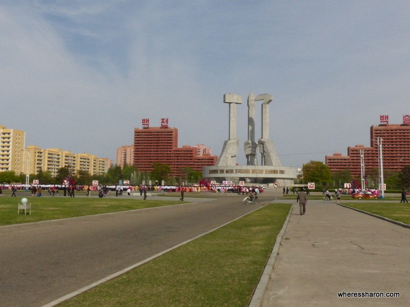 Monument to Party Founding Pyongyang