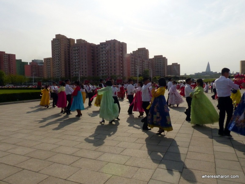 Mass Dancing in North Korea