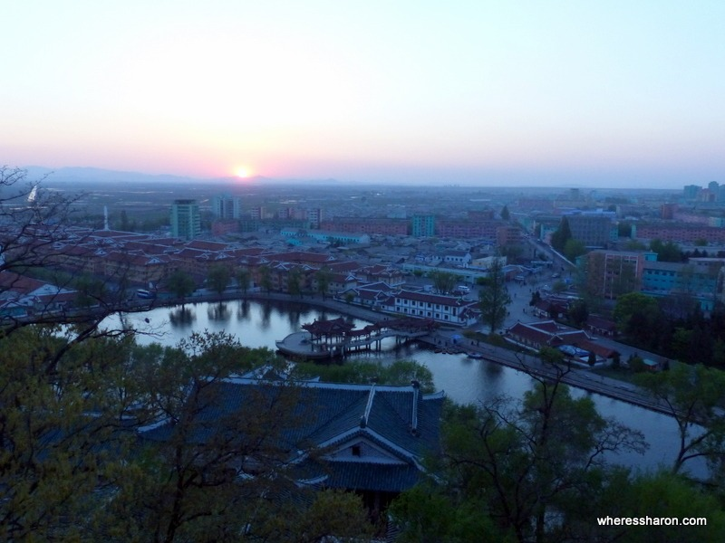 most beautiful places in north korea at sariwon city