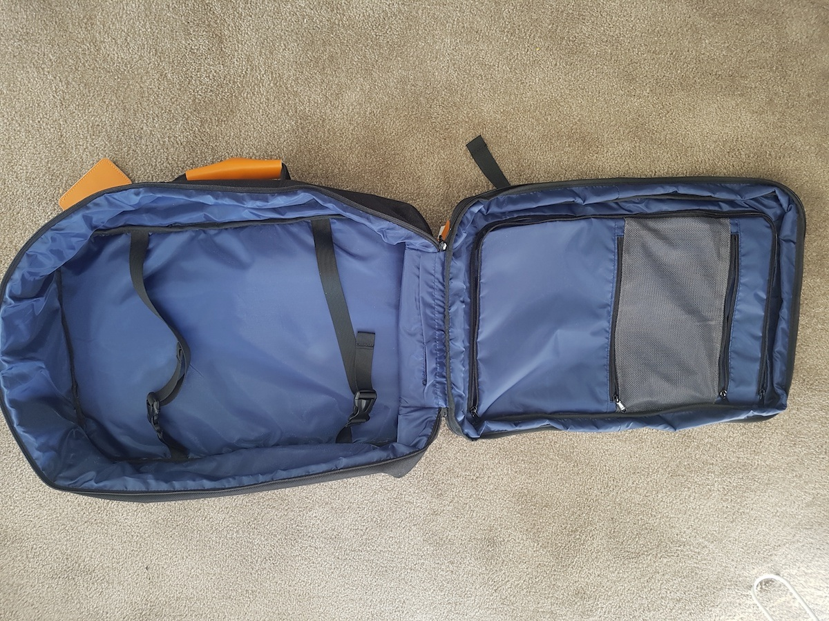 Review of the Awesome Standard Luggage Carry On Backpack - Family Travel Blog - Travel with Kids