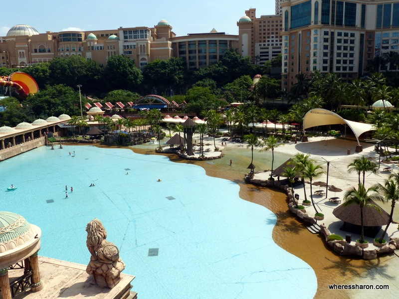 water Park themed area at Sunway Lagoon
