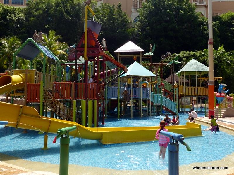 water park playground at Sunway Lagoon