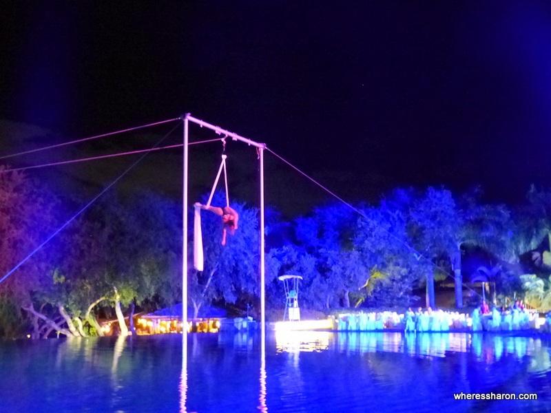 club med mauritius circus show