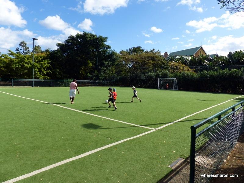 club med mauritius soccer