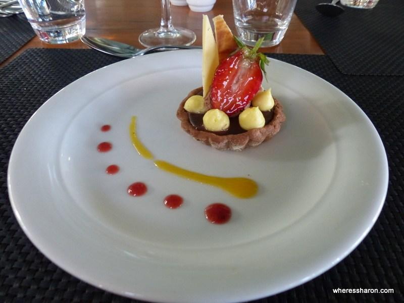 dessert at Club Med Albion