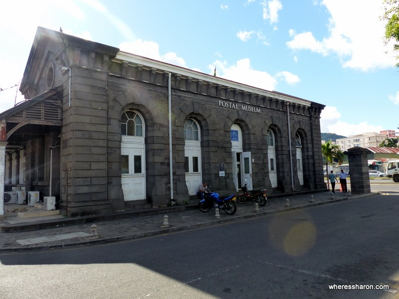 Postal Museum mauritius activities prices