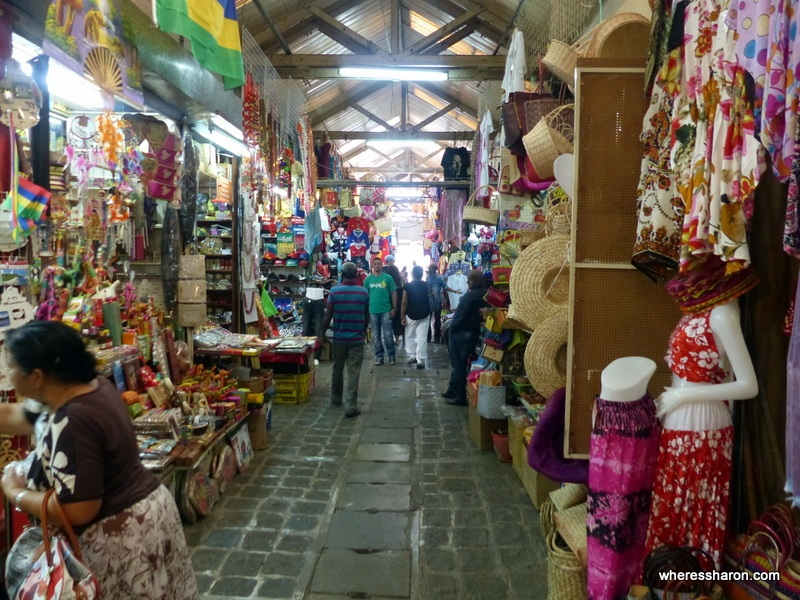 Central Market tourist attractions mauritius