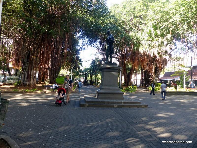 Jardins de la Compagnie mauritius places to go