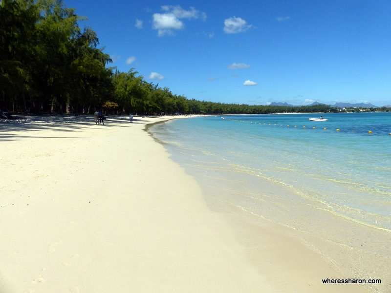 Mont Choisy beach best places to visit in mauritius for honeymoon