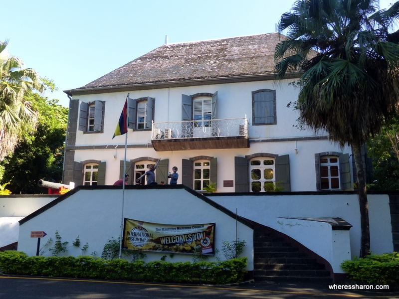 National History Museum places of interest mauritius