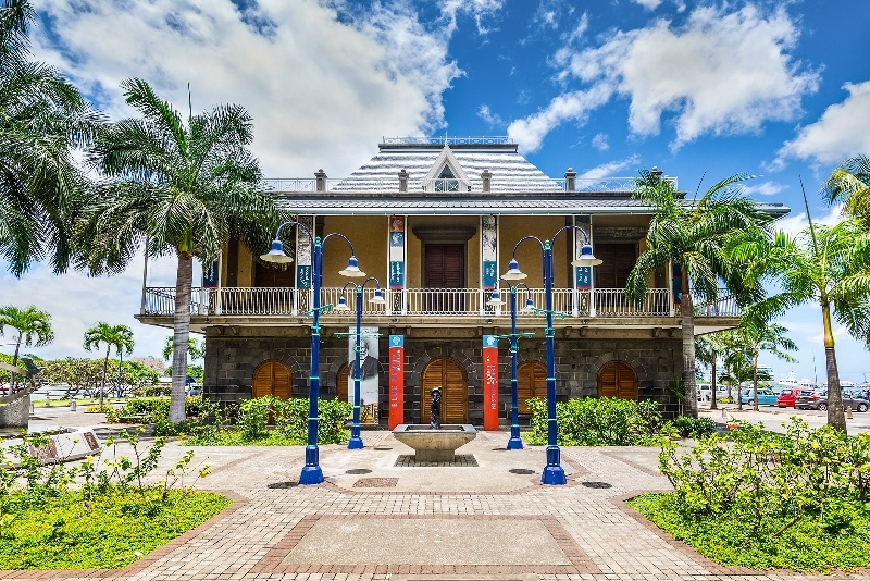 mauritius places to see at Blue Penny Museum