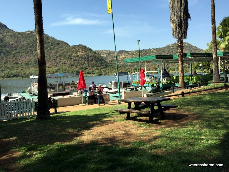 The restaurant in Waterworld by the man made lake. Wondering what to do in sun city south africa? Wonder no more - Sun City day activities are here.